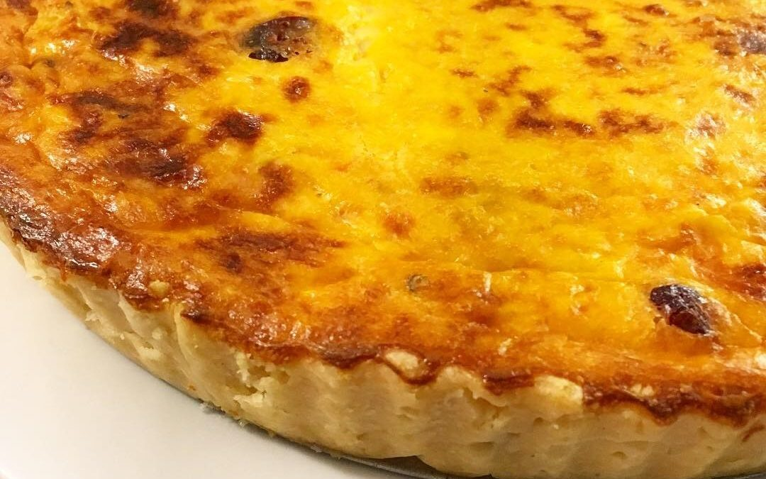 Tarta de Calabaza – Cheese Pumpkin Quiche